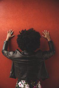 Afro hair type 4
